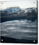 Famous Mountain Askja In Iceland Acrylic Print