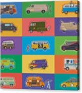 Famous Vans Acrylic Print