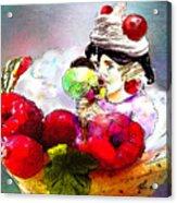 Fancy An Icecream With Me Acrylic Print