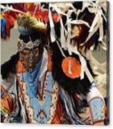Pow Wow Fancy Dancer 1 Acrylic Print