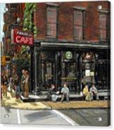 Fanelli Cafe Acrylic Print