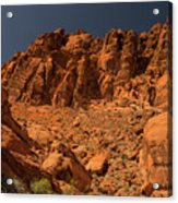 Fantastic Landscape Valley Of Fire Acrylic Print
