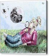 Fantasy Bubbles Acrylic Print