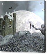 Fantasy Castle - 3d Render Acrylic Print