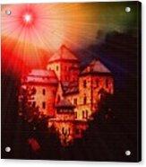 Fantasy Castle For Mandy Maxwell H B Acrylic Print