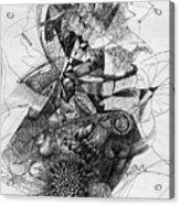Fantasy Drawing 2 Acrylic Print