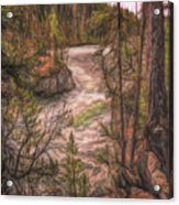 Fantasy Land Acrylic Print