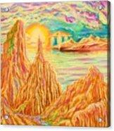 Fantasy Landscape Acrylic Print