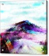 Fantasy Mountain Acrylic Print