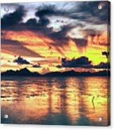 Fantasy Sunset Acrylic Print