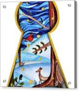 Fantasy Through The Keylock Acrylic Print