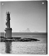 Far De La Savina Lighthouse, Formentera Acrylic Print