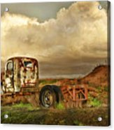 Far Rusted Truck Acrylic Print