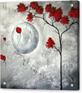 Far Side Of The Moon By Madart Acrylic Print