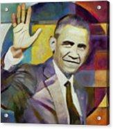 Farewell Obama Acrylic Print
