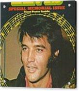 Farewell To Elvis Acrylic Print