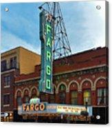 Fargo Theater Acrylic Print
