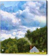 Farm - Barn - Home On The Range II  Acrylic Print