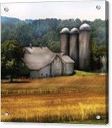 Farm - Barn - Home On The Range Acrylic Print