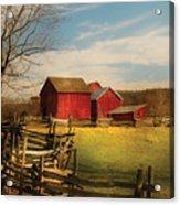 Farm - Barn - I Bought The Farm Acrylic Print
