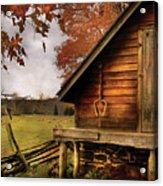 Farm - Barn - Shed Out Back Acrylic Print