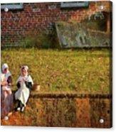 Farm - Farmer - Afternoon Break Acrylic Print