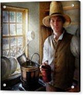 Farm - Farmer - The Farmer Acrylic Print