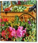 Farm - Food - At The Farmers Market Acrylic Print