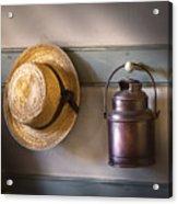 Farm - Tool - The Coat Rack Acrylic Print