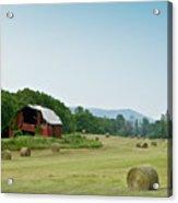Farm Barn Listing Acrylic Print