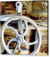 Farm Equipment Corn Sheller Acrylic Print
