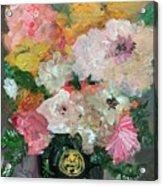 Farm Flowers Acrylic Print