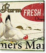 Farm Fresh Eggs-c Acrylic Print