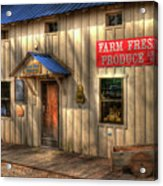 Farm Fresh Produce Acrylic Print