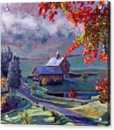 Farm In The Dell Acrylic Print