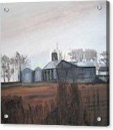 Farm In The Fall Acrylic Print