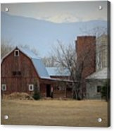 Farm In The Foothills Acrylic Print