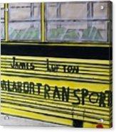 Farm Labor Bus Acrylic Print