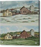 Farm Of Seasons Acrylic Print