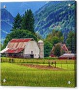 Farm, Randall, Wa Acrylic Print