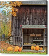 Farm Stand Etna New Hampshire Acrylic Print