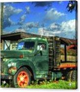 Farm Stand Truck Acrylic Print