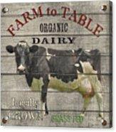 Farm To Table Dairy-jp2629 Acrylic Print