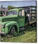 Farm Truck Acrylic Print
