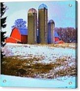Farm Up Yander Acrylic Print