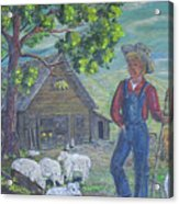 Farm Work II Acrylic Print