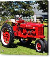 Farmall At The Country Fair Acrylic Print by Andrew Pacheco