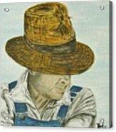 Farmer Ted Acrylic Print