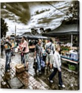 Farmer's Market 3 Acrylic Print
