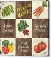 Farmer's Market Patch Acrylic Print